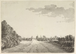 Oxford, from the bridge on the Abingdon Road